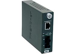 Trendnet TFC-110MST convertidor de medio 200 Mbit/s 1300 nm Multimodo Gris