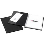 Rexel Nyrex™ Slimview A4 Display Book 50 Pockets Black