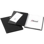 "Rexel Nyrexâ""¢ Slimview A4 Display Book 50 Pockets Black"