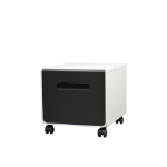 Brother ZUNTL8000LOW Black, White printer cabinet/stand