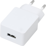 eSTUFF Home Charger 1 USB 2,4A, 12W White Indoor