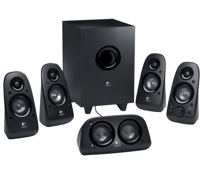 Logitech Z506 speaker set 5.1 channels 150 W Black
