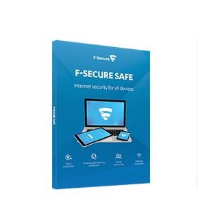 F-SECURE SAFE Full license 1 year(s) Danish, German, Dutch, English, Spanish, French, Italian, Norwegian, Polish, Portuguese, Russian