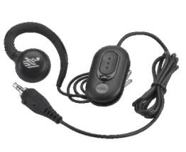 Zebra HDST-35MM-PTVP-01 headphones/headset Ear-hook Black