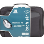 "Tech air TABUN33MV2 notebook case 43.9 cm (17.3"") Messenger case Black"