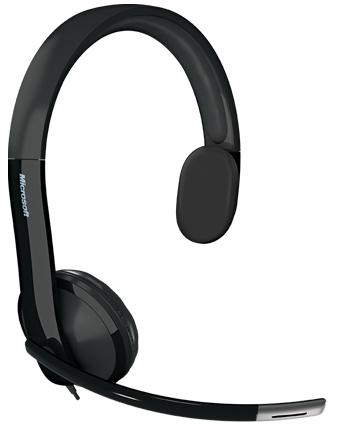 Microsoft LifeChat LX-4000 for Business Monaural Head-band Black headset