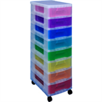 REALUSE REALLY USEFULL TOWER 8X7 DRAWERS M/COL