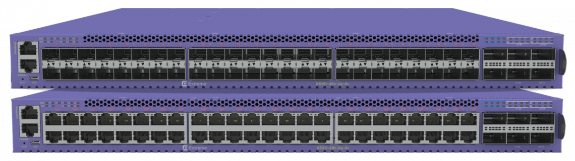Extreme networks X690-48x-2q-4c L2/L3 None Black