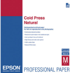 Epson Cold Press Natural, A3+, 25 Blatt inkjet paper