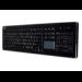 Adesso AKB-440UB USB QWERTY Black keyboard