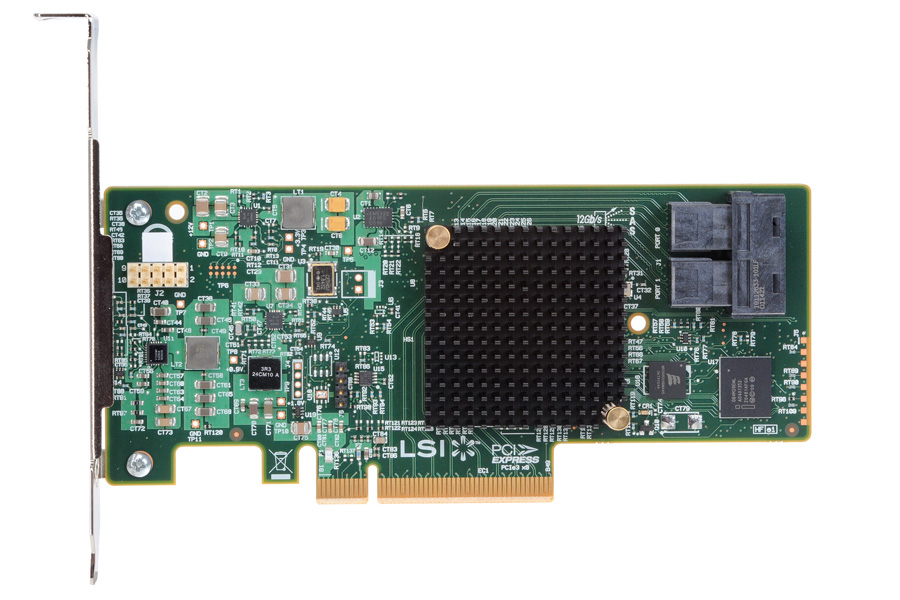 Intel RS3WC080 controlado RAID PCI Express x8 3.0 12 Gbit/s