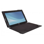 Urban Factory Microsoft Surface Pro2 Folio Cover Case - Black - (SUR90UF)