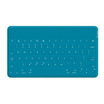 LOGITECH Keys-To-Go Ultra-Portable Keyboard for iPad - Teal