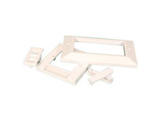 Videk 5523DE wall plate/switch cover White