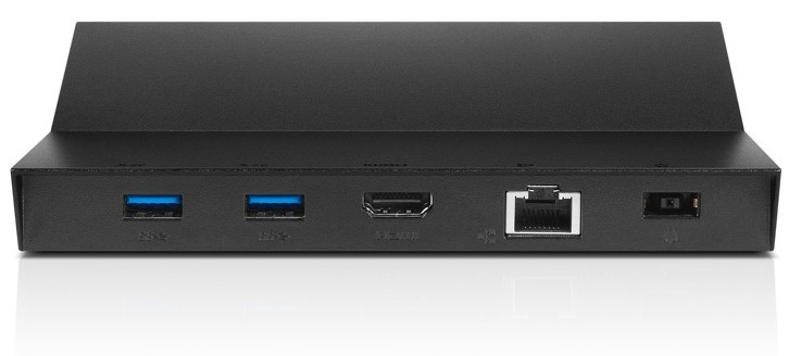 Lenovo 4X10H04513 mobile device dock station Tablet Black
