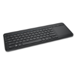Microsoft All-in-One Media keyboard RF Wireless QWERTY English Black