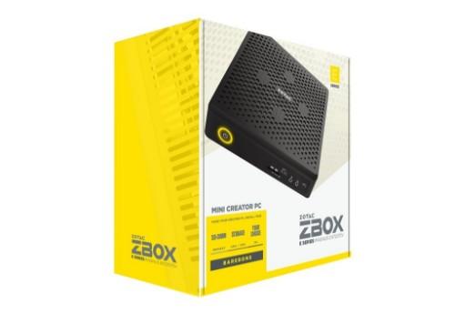 Zotac ZBOX MAGNUS EN72070V 9th gen Intel® Core™ i7 i7-9750H 16 GB DDR4-SDRAM 1000 GB Black Mini PC
