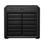 Synology DiskStation DS2419+ 72TB 12x6TB Seagate IronWolf 12 Bay NAS Desktop Tower Ethernet LAN Black C3538