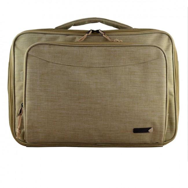 "Tech air TANZ0138 maletines para portátil 39,6 cm (15.6"") Bandolera Beige"