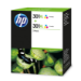 HP 301XL 2-pack Tri-color Original Cian, Magenta, Amarillo 2 pieza(s)