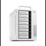 TerraMaster D8 Thunderbolt 3 disk array 112 TB Desktop Aluminium