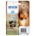 Epson Squirrel Singlepack Light Cyan 378XL Claria Photo HD Ink