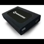 Kanguru U3-2HDWP-2T external hard drive 2000 GB Black