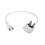 Vision TC 0.5MUKF8 power cable White 0.5 m C7 coupler BS 1363