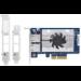 QNAP QXG-10G2T-107 adaptador y tarjeta de red 100 Mbit/s