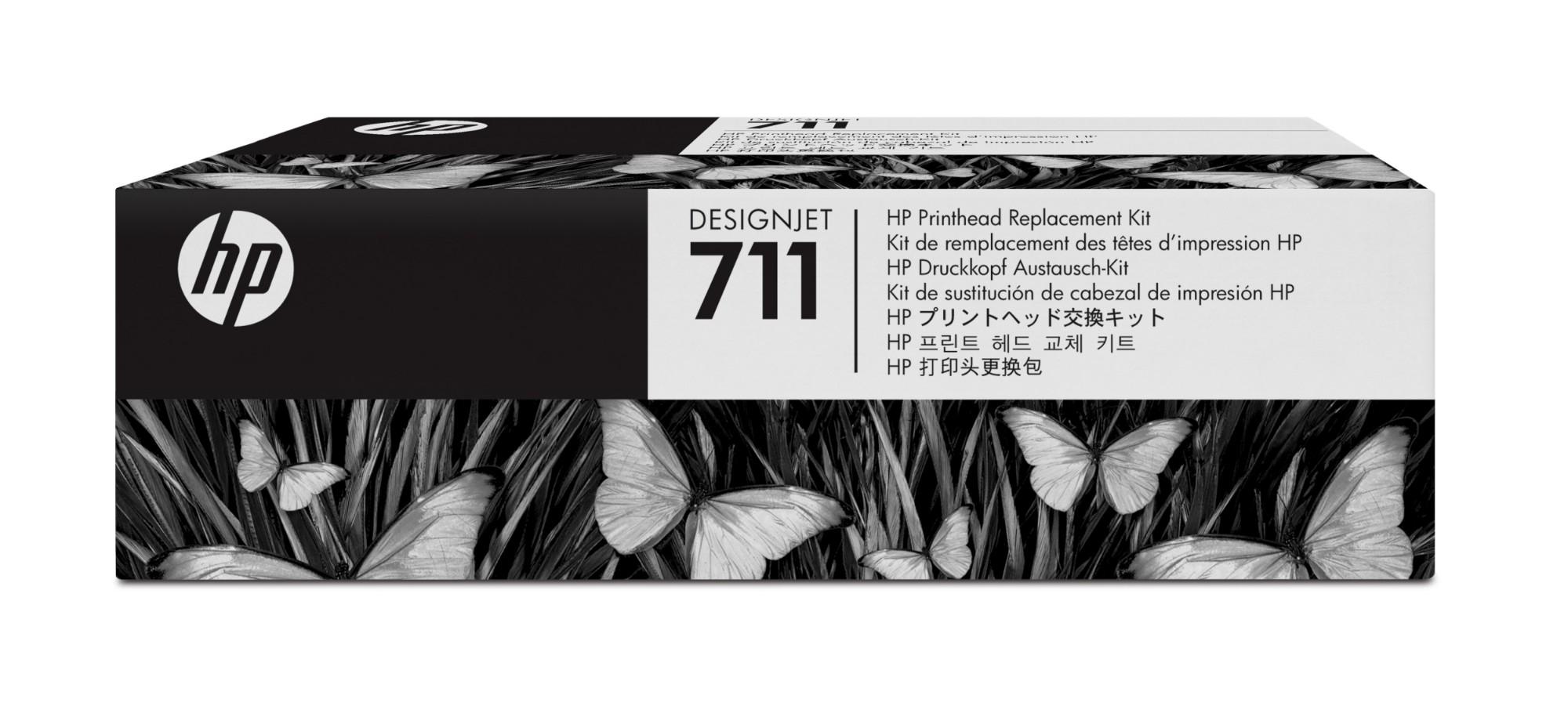 HP 711 DesignJet printkopvervangingskit