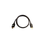 """V7 V7HDMIPRO-1M-BLK HDMI cable 39.4"""" (1 m) HDMI Type A (Standard) 2 x HDMI Type A (Standard) Black"""