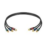 "Black Box EJ517-0025 component (YPbPr) video cable 299.2"" (7.6 m) RCA"