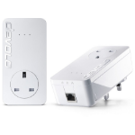 Devolo dLAN 650+ 600Mbit/s Ethernet LAN White 2pc(s) PowerLine network adapter