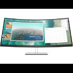 "HP E344c pantalla para PC 86,4 cm (34"") 3440 x 1440 Pixeles WQHD Curva Plata"