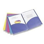 Rapesco Twin ID File Multicolour folder