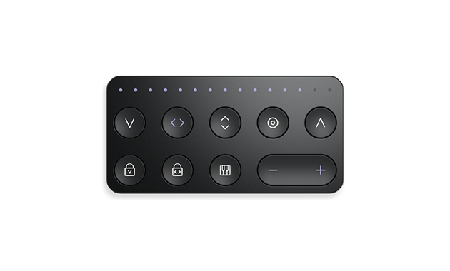 ROLI Touch Block Bluetooth Press buttons Black remote control
