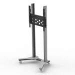 "PMV PMVTROLLEYXL flat panel floorstand 190.5 cm (75"") Portable flat panel floor stand Grey"