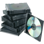 Q-CONNECT Q CONNECT CD JEWEL CASES SLIM BLACK PK25