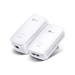 TP-LINK TL-WPA9610 KIT Network transmitter & receiver White 10,100,1000Mbit/s