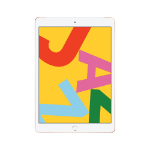 Apple iPad 25,9 cm (10.2 Zoll) 3 GB 32 GB Wi-Fi 5 (802.11ac) 4G LTE Gold iPadOS