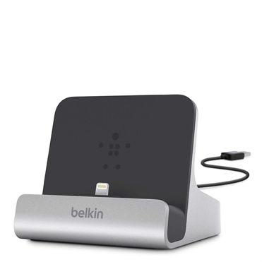 Belkin Express Dock mobile device dock station Tablet Black,Silver