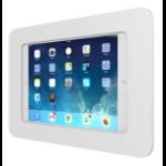 "Maclocks Rokku Galaxy Adjustable Floor Stand 9.7"" White tablet security enclosure"