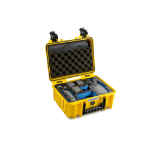 B&W 3000/Y/MAVIC2V2 camera drone case Briefcase Yellow Polypropylene (PP)