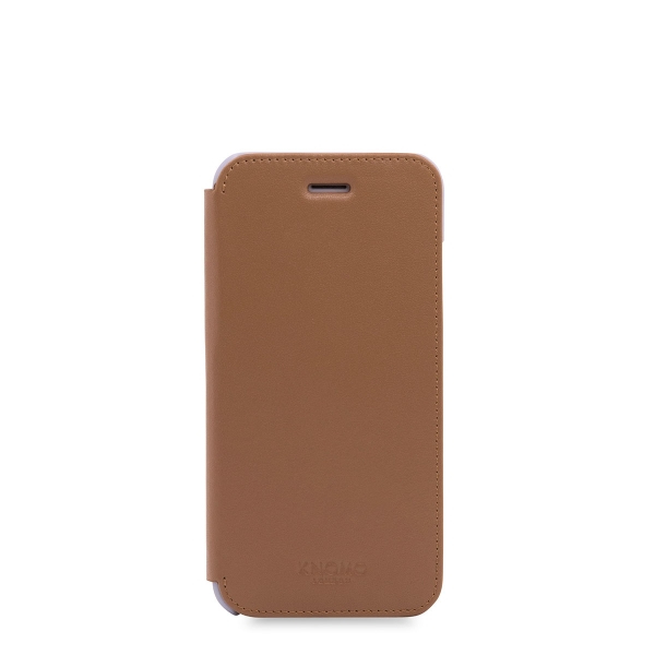 "Knomo 90-070-CAR 4.7"" Wallet case Beige mobile phone case"