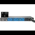 Hewlett Packard Enterprise 16A 3 Phase Intl Core Only Intelligent Modular PDU power distribution unit (PDU) Black,Blue 6 AC outlet(s)