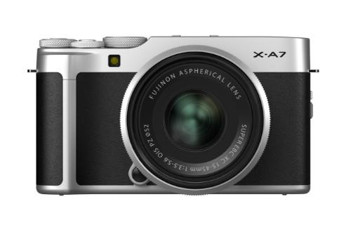 Fujifilm X -A7 + XC15-45mm F3.5-5.6 OIS PZ Compact camera 24.2 MP CMOS 5328 x 4000 pixels Black,Silver