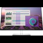 """HP EliteDisplay E324q 80 cm (31.5"""") 2560 x 1440 pixels Quad HD LED Flat Grey"""