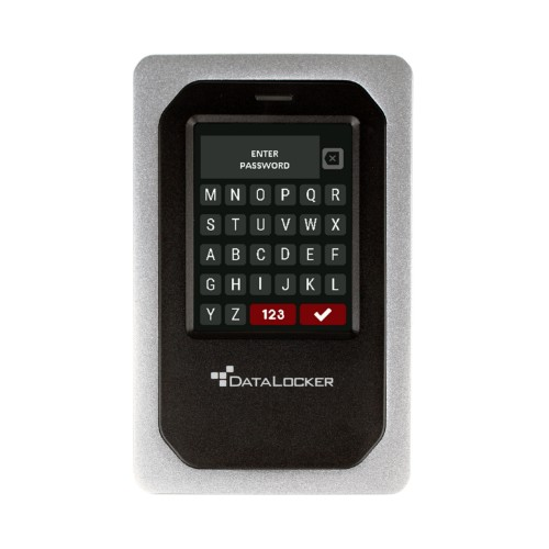 DataLocker DL4 FE, 2TB HDD, FIPS 140-2 L3, AES 256-bit, Touchscreen, USB 3.2 Gen 1