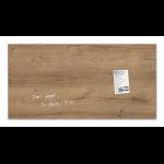 Sigel GL258 Glass Brown,Wood magnetic board
