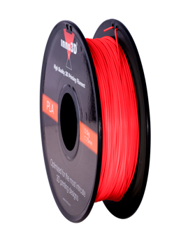 Abs Filament 1.75mm 200mm spool Red